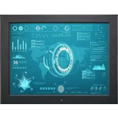 """19"""" Rugged LCD Aluminum Frame - Industrial LCD Panel (Part# LCD-AP19)"""