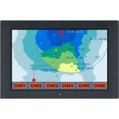 "19"" Wide Screen, Rugged Aluminum Frame - Industrial LCD Panel (Part# LCD-AP-W19)"