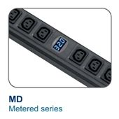 20 Outlet Rack Mount kWh Monitored PDU -  20Amp, 110V  - 20, 5-20R, 5-20L (Part# H20US-20A-W/CR_L520-3B-1)