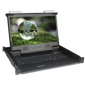 "1U 17"" Short Depth 1920 X 1080 Rackmount Monitor"