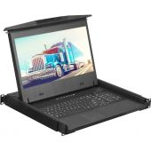 "1U 17"" Ultra Short 1920 X 1080 Rackmount Monitor (Part# RM-F17USD)"
